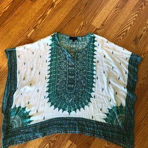 Boho poncho style blouse 18/20
